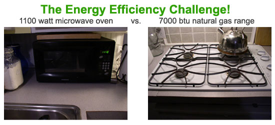 Which is more efficient in using energy? The stove or oven?
