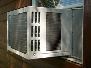 Window air conditioner units can be a good, lower cost alternative to central air. Just be careful when you install it!